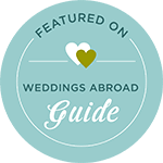 Noces du Monde Wedding Planner est recommandé par Weddings Abroad Guide
