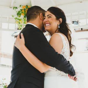 Félicitations aux jeunes mariés américains