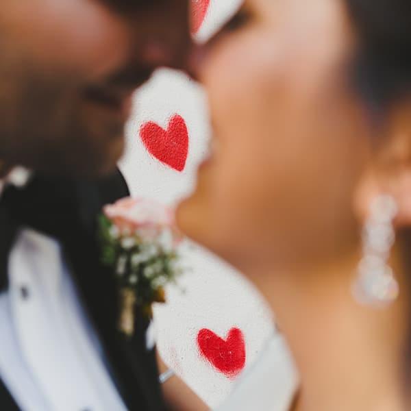 Couple américain pour un elopement en France