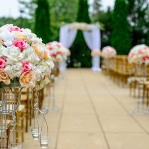 Cérémonie de mariage de luxe par NOCES DU MONDE