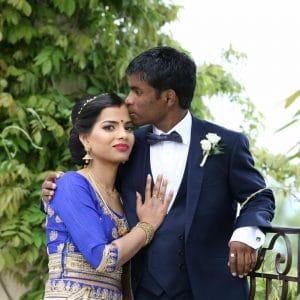 Mariage indien lors du dîner de mariage à Cannes