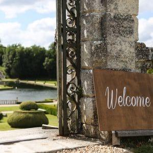 Bienvenue au château pour un mariage Français