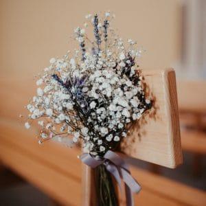 Bout de blanc dans une église de Provence