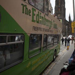 Bus Ecossais pour un mariage à Edimbourg
