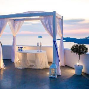 Mariage en Grèce avec cérémonie