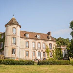 Château de Miserai pour un mariage Anglais