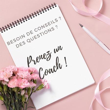 Nous vous conseillons de prendre un coach mariage pour bénéficier de conseils !