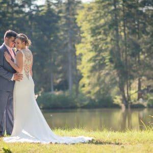 Mariage et photo de couple dans la forêt de Normandie
