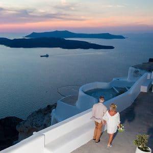 Partir se marier en Grèce avec son wedding planner