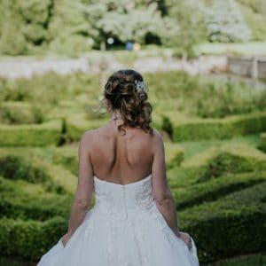 Jolie mariée en Ecosse avec le wedding planner NOCES DU MONDE