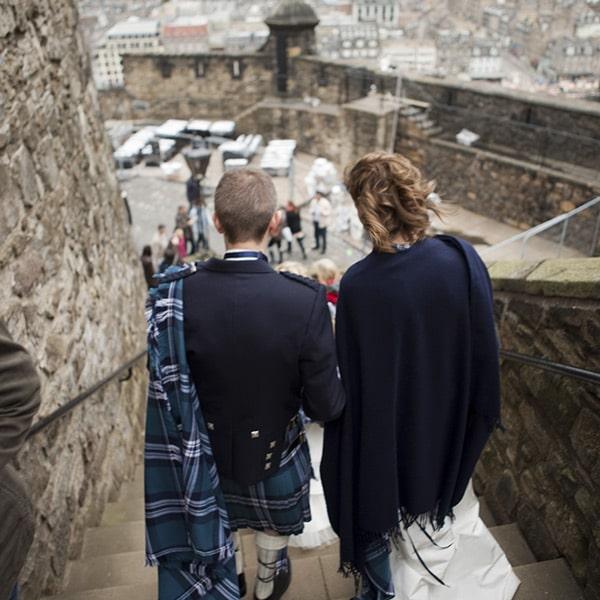 Cérémonie civile légale en Ecosse avec le wedding planner NOCES DU MONDE