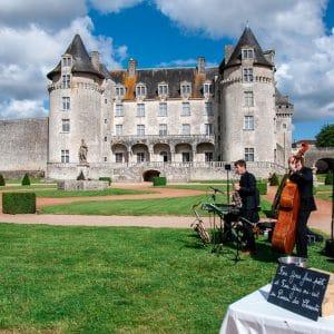Groupe de musique pour cocktail lors d'un mariage en Charentes