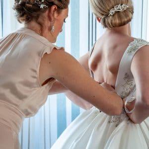 Préparations de la mariée avant son mariage
