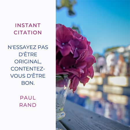 Citation de Paul Rand pour vous amuser