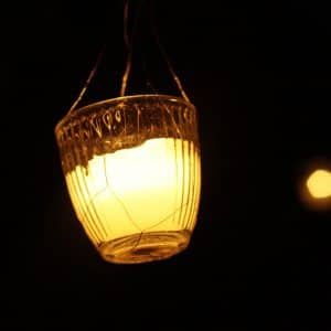 Lanterne pour soirée de mariage animée et lumineuse