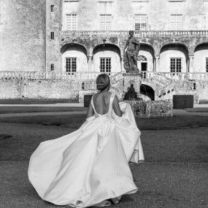 Magnifique Mariée au Château de la Roche Courbon