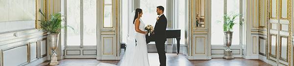 Mariage de luxe dans un château en France