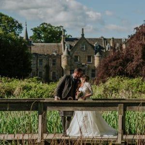 Mariage Français en Ecosse dans un château
