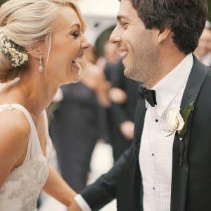 Mariage de luxe pour couple moderne