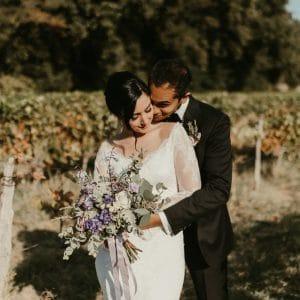 Séance photo au milieu des vignes de Provence