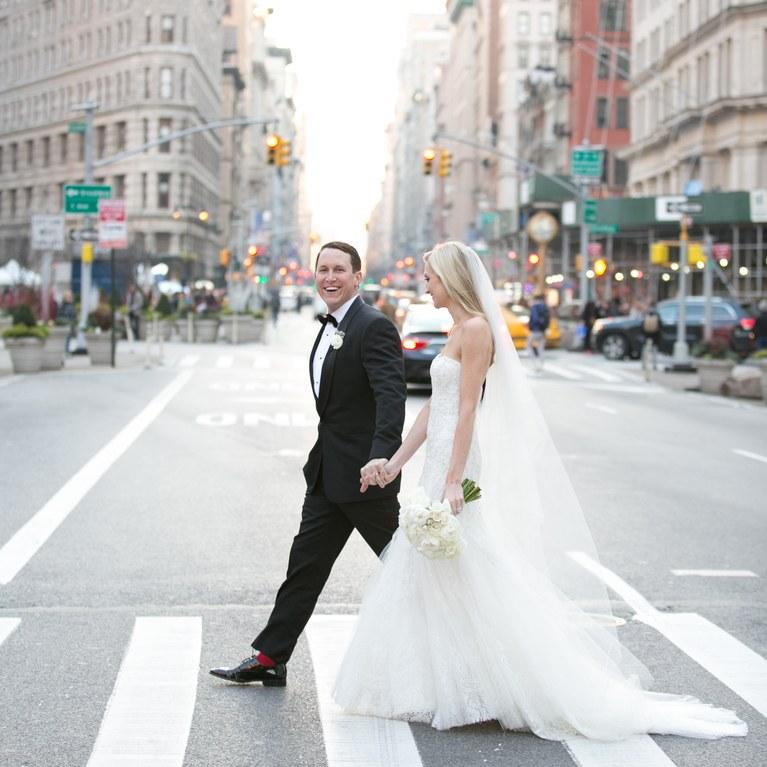 Mariage de destination à New-York pour couple branché