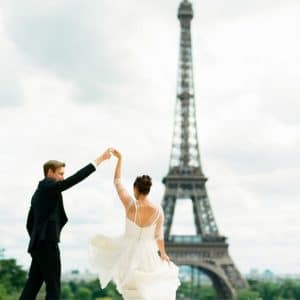 Elopement en France, à Paris, à la Tour Eiffel