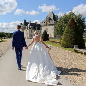Organisation de mariage dans un château en France