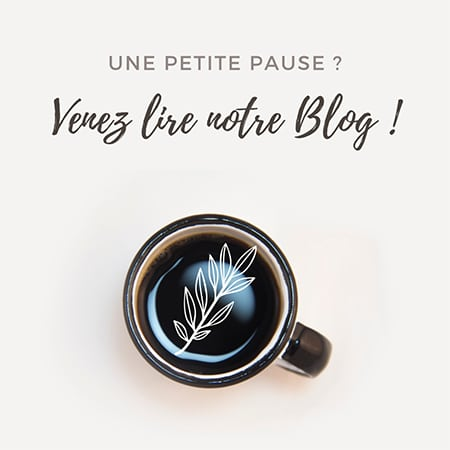 Venez lire notre Blog mariage pendant votre pause café