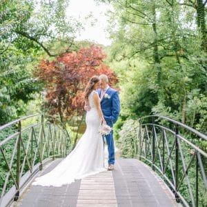 Mariage à Paris sur un pont