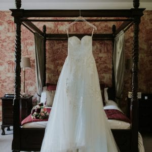 Robe de mariée pour mariage de destination en Ecosse