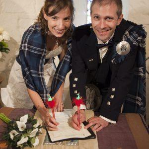 Mariage Français en Ecosse, reconnu légalement