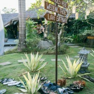 Mariage zen à Bali