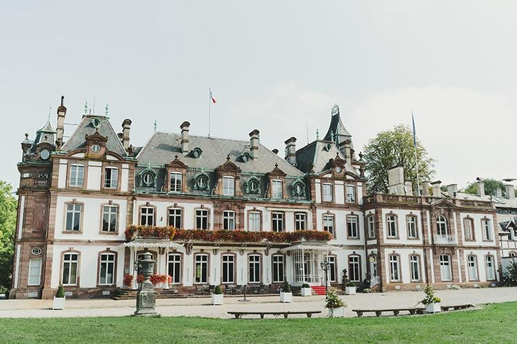 Un château à Strasbourg pour se marier sous une gloriette