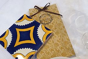 Cadeau invité pour mariage de destination Chine et Mexique