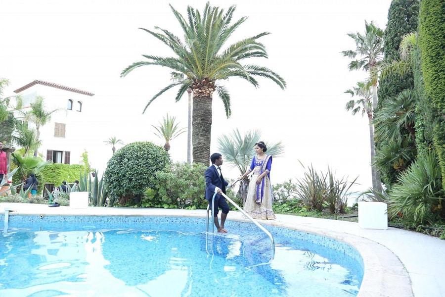 Mariage hindou à Cannes avec NOCES DU MONDE