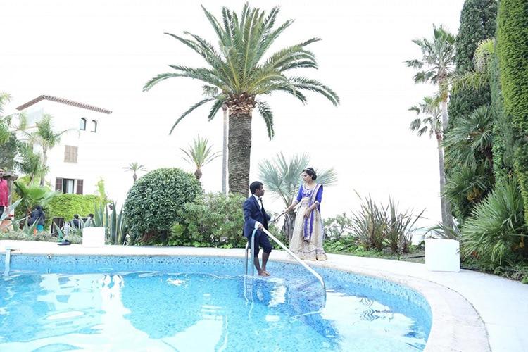 Mariage indien à Cannes avec NOCES DU MONDE