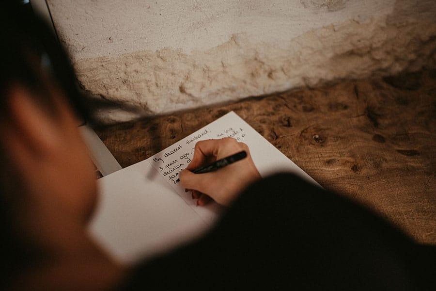 Ecrire ses voeux pour son mariage