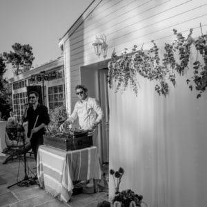 DJ et sax dans une villa privée à Arcachon